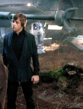 luke skywalker rotj tatooine and dagobah