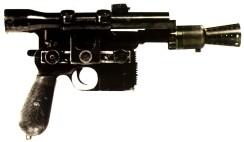 blaster pistol star wars